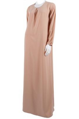 Abaya Ourida couleur Pêche