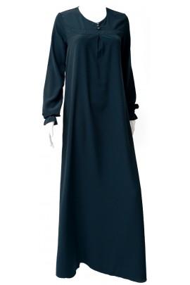 Abaya Almass Vert Bouteille