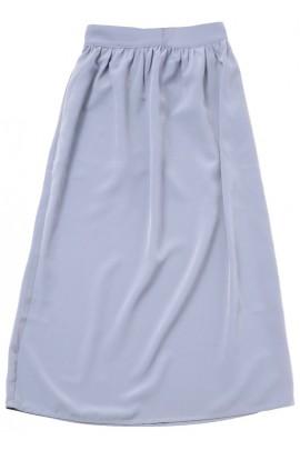 Jupe longue gris clair