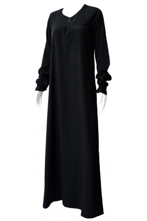 Abaya Almass noire