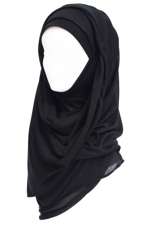 Maxi Hijab noir