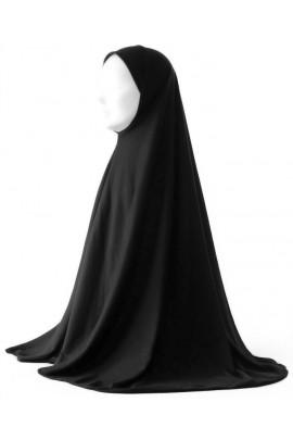 Hijab 1 pièce long