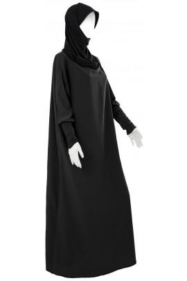 Abaya Hijab intégré