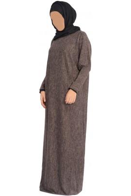 Abaya Sajida Marron
