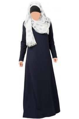 Abaya Zakia Bleu marine