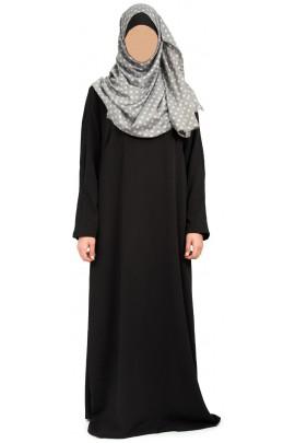 Abaya Ilham Noir