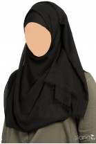 Hijab Zaynab Noir