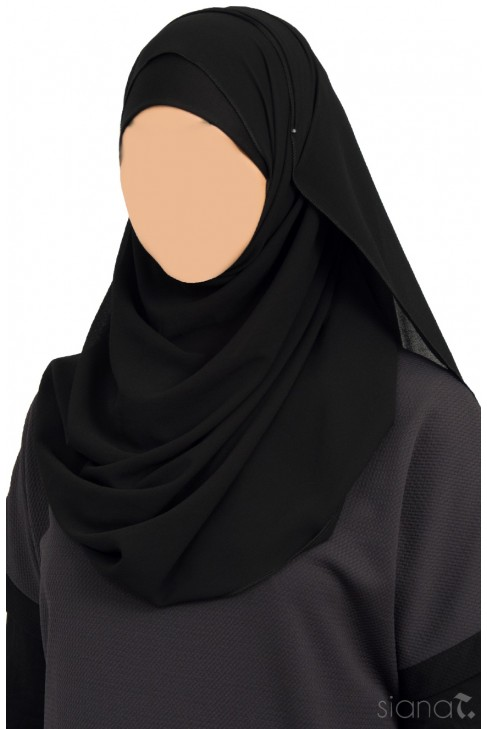 Hijab Siham Noir
