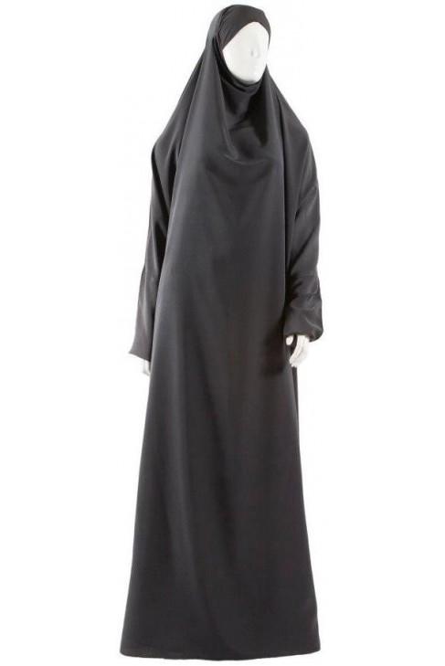 Gray Safâ jilbab