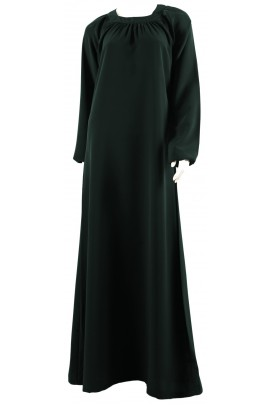 Abaya Inaya vert bouteille