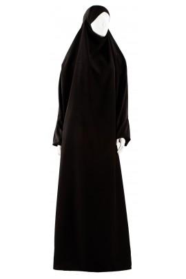 Black Safâ jilbab
