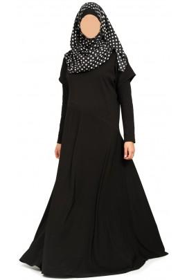 Abaya Lamia Noire